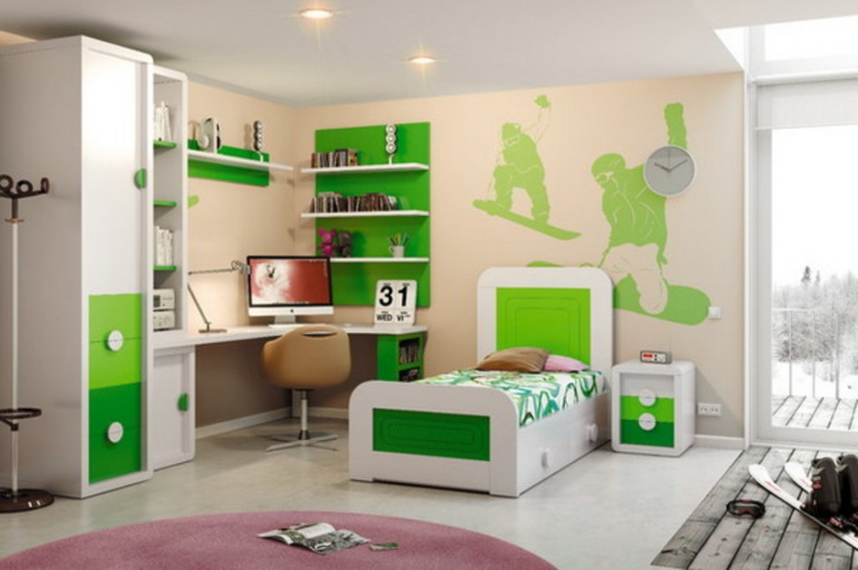 Boys Bedroom Set 3 Kidszone Furniture