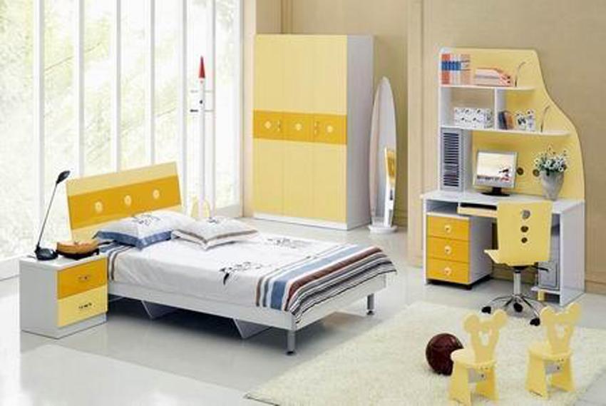 Kidszone furniture boys bedroom set 10 for Boys bedroom furniture sets