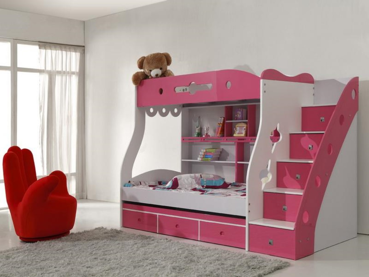 Kidszone Furniture Bunk Bed 36