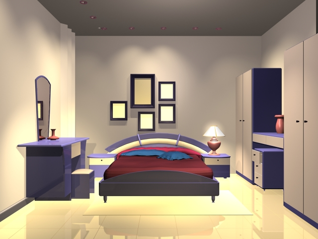 3d Bedroom Furniture 1